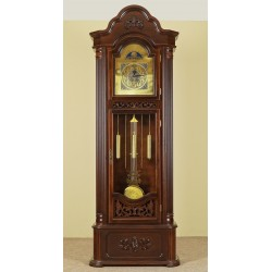 Grandfather clock longcase pendulum
