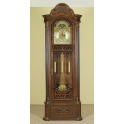 Zegar stojący drewniany