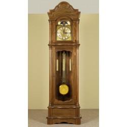 Grandfather clock longcase pendulum oak Eiche