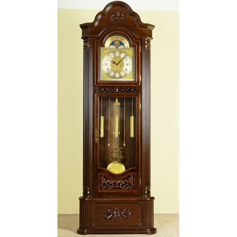Corner Grandfather Clock Longcase Pendulum Livetime Pl