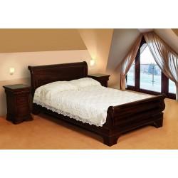 Łóżko sanie styl francuski 120x200 cm