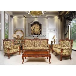Sofa set 3+2+1 baroque rococo