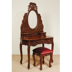 Rococo dresser dressing table baroque