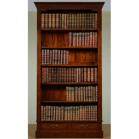 Regál knihovna