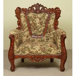 Fotel wypoczynkowy barok rokoko