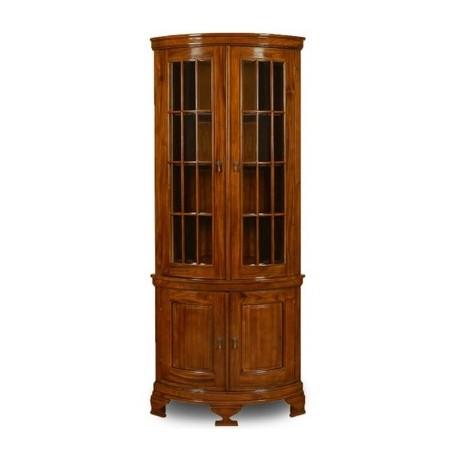 Colonial Corner Glass Cabinet Livetime Pl