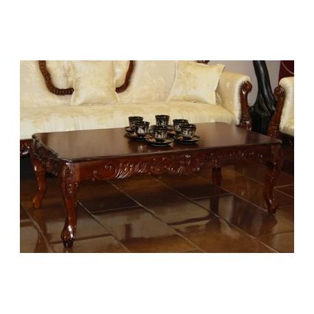 stolik rzeźbiony styl euro