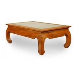 Ława kolonialna stolik kawowy szkło
