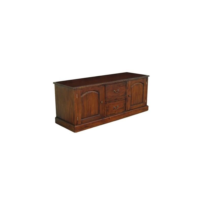 tv kommode 150 cm schrank tisch kolonialstil. Black Bedroom Furniture Sets. Home Design Ideas