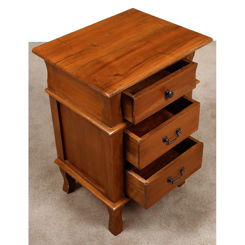 Night stand commode colonial style - Commode style colonial ...