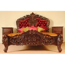 Łóżko barok rokoko 160x200 cm