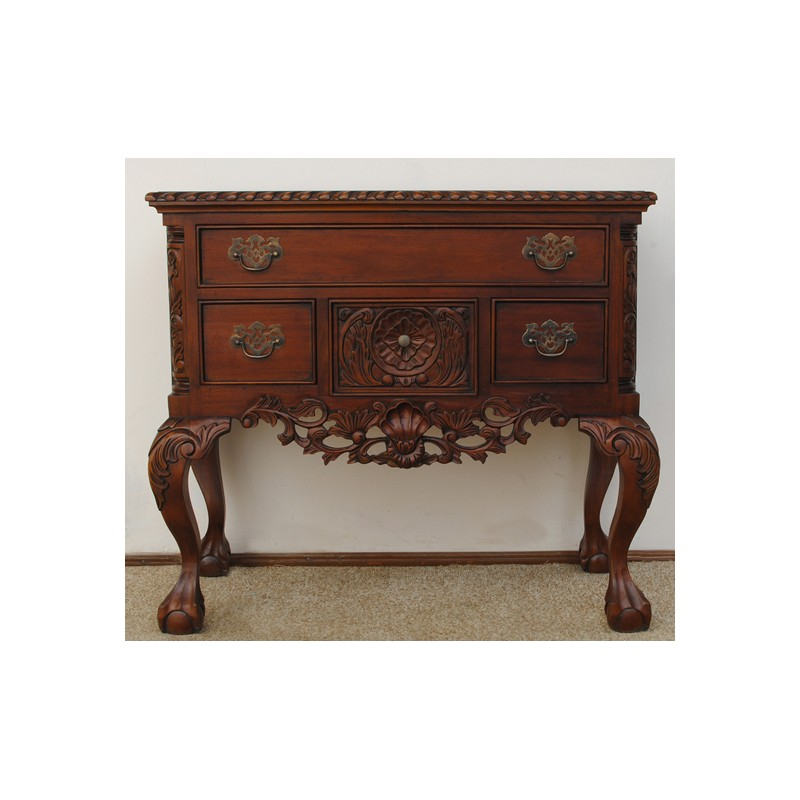 chippendale lowboy kommode rokoko barock. Black Bedroom Furniture Sets. Home Design Ideas