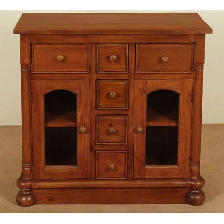 commode cupboard 90 cm colonial style. Black Bedroom Furniture Sets. Home Design Ideas