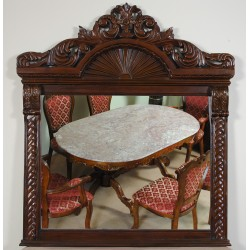 Zrcadlo rokoko baroko