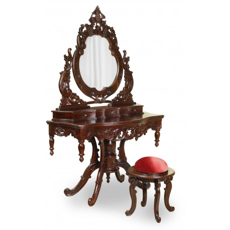 Rococo Dresser Dressing Table Stool Baroque Livetime Pl
