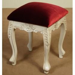 White stool louis style