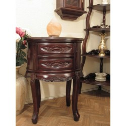 Louis carved commode wall table