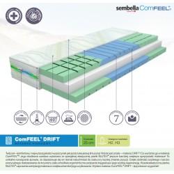 Memory foam mattress 80x200 cm Sembella ComFEEL Drift