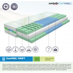 Materac piankowy Sembella ComFEEL Drift