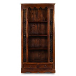 Colonial bookcase library