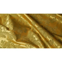 Golden satine 02 - satyna atłasowa materiał tapicerski