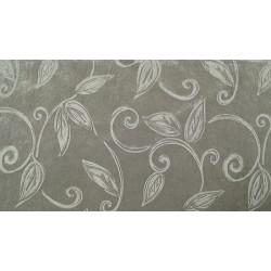 Grey velvet - welur materiał tapicerski