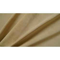 Dark cream velvet - welur materiał tapicerski