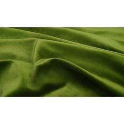 Green velvet 01 - welur materiał tapicerski