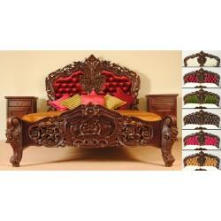 Łóżko barok rokoko