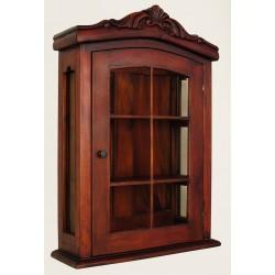 Półka wisząca szafka apteczka styl kolonialny