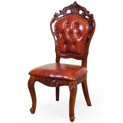 Krzesło rzeźbione ludwik barok rokoko