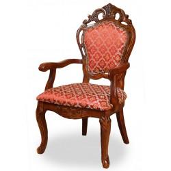 Krzesło rzeźbione fotel ludwik barok rokoko