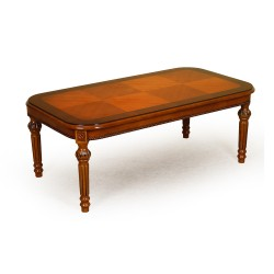 Stolik rzeźbiony 130 cm ława ludwik