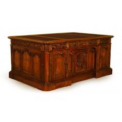 Президентский письменный стол 190x125 см копия Резолют стол