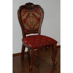 Krzesło rzeźbione ludwik barok