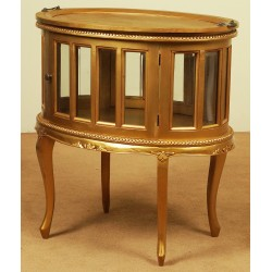 Gold tea table louis style